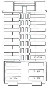 sprinter fuse box diagram c class w204 2008 2014 fuse list chart box location w204 dash w204 fuses diagram side