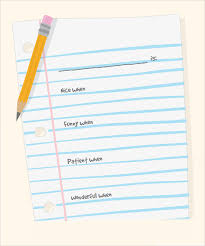 free lined paper template 10 sample notebook paper templates to download for free sample