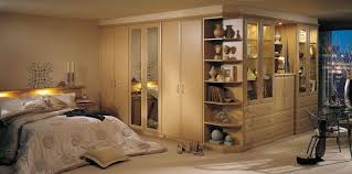 Modern Fitted Bedroom Furniture Alto Contemporary Fitted Bedroom In Beech By Strachan