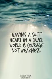 Quotes About Soft Hearted 40 Quotes Mesmerizing Soft Quotes