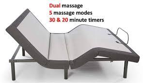 adjustable bed base reviews. Exellent Base Ghostbed Adjustable Base Reviews  Dual Massage Features Intended Bed