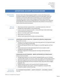 Account Manager Resume Sample Tgam Cover Letter Resumes Image