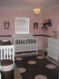 pink baby furniture. i was always in love with pink and brown for little baby furniture