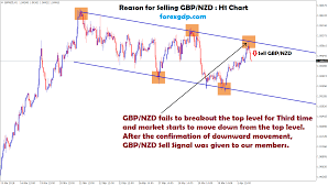 1873 Points Profit Reached In Gbp Nzd Sell Signal Forex Gdp