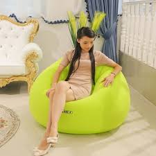 jilong creative portable flocking fast inflatable lazy sofa chair sleep bed home garden furniture outdoor y46 furniture