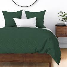 duvet lifestyle duvet lifestyle wyandotte duvet cover featuring forest green linen