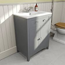the bath co camberley grey vanity unit with basin mm