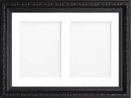 shabby chic multi aperture photo picture frame 2 photo 6 x 4