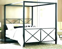 Canopy Bed Frame Queen Canopy Bed Frame Queen Bamboo Canopy Bed ...