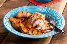 grilled peaches n cream