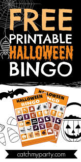 Print out this coloring sheet on card stock paper and then write the names of the invitees. Download These Free Printable Halloween Bingo Cards Now Catch My Party
