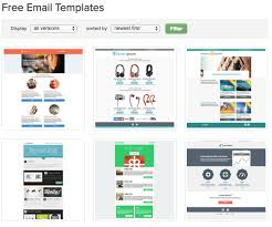 Newsletter Free Templates 900 Free Responsive Email Templates To Help You Start With Email Design