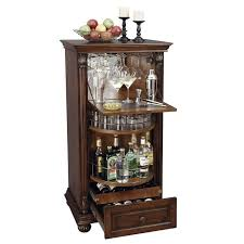 hidden bar furniture. howard miller cognac hide a bar liquor cabinets at brookstonebuy now hidden furniture