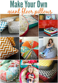 Floor Pillows And Poufs Your Own Floor Pillows