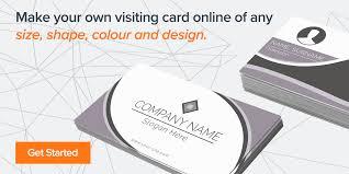 Free Visiting Card Design Online In India Design Online In