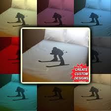 skier bedding