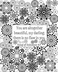 Bible Verse Coloring Pages For Adults Printable Pdf Scripture