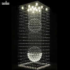 best modern elegant led large crystal chandeliers lighting fixtures for hotel villa crystal ball shape lamp under 444 23 dhgate com