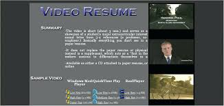 video resume video resume examples and get ideas to create your resume with  the best way