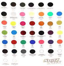Pactra Paint Chart Best Quality Rattle Can Paint The Body Shop Paint Booth