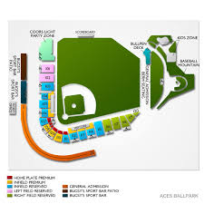 Aces Ballpark Seating Chart Omaha Storm Chasers At Reno Aces Tickets 8 4 2019 1 05 Pm