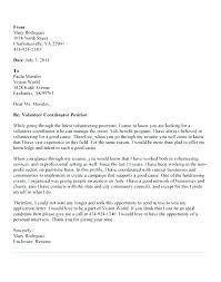 Volunteer Cover Letter Samples Volunteer Application Letter Powerful Cover Letters Volunteer Cover