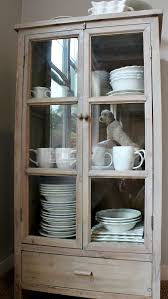 storage for extra dishes new freestanding glass door cabinet intended cabinets with doors decor 9