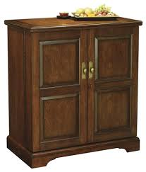 Cherry Bar Cabinet 695116 Howard Miller Americana Cherry Portable Wine And Bar Cabinet
