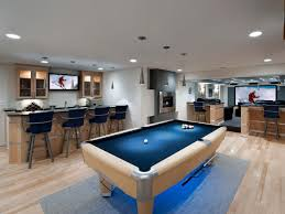 Best Man Cave Ideas And Designs For - Unfinished basement man cave ideas