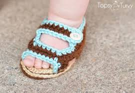 Crochet Baby Sandals Pattern Awesome 48 Adorable And FREE Crochet Baby Sandals Patterns