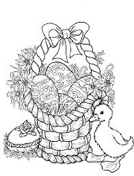 Easter Color Pages With Coloring Pages Easter Egg Coloring Pages