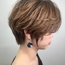 一重な女に似合う髪型13選前髪なしやショートカットヘアスタイルも Cuty