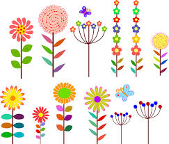 picture of cartoon flowers. Exellent Cartoon Cartoon Flowers Design Element To Picture Of Cartoon Flowers