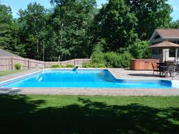 Play Swimming Pool Designs Another L Shaped Pool Design With Pavers Pool Houses