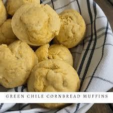 Green Chile Cornbread Muffins Pound Dropper