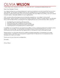 Email Cover Letter For Accounting Position Adriangatton Com