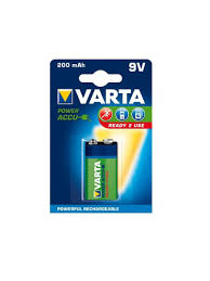 <b>Аккумулятор</b> VARTA <b>9V</b> R2U 200 мАч VARTA 9176315 в интернет ...