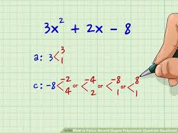 image titled factor second degree polynomials quadratic equations step 4