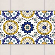 Tile Border Portuguese tiles mirror of Azulejo 15cm x 15cm