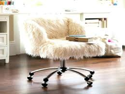 fluffy desk chair fur desk chair white furry desk chair fur office furniture unique chairs study