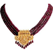 red ruby necklace ruby necklace