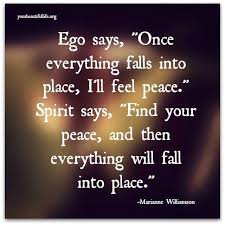 QUOTES ABOUT LIFE 40 Quotes About Peace Of Mind Just Listen To Custom Peace Of Mind Quotes