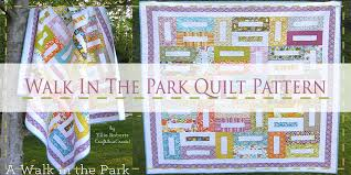 10 Free Jelly Roll Quilt Patterns & Walk In The Park Jelly Roll Quilt Pattern Adamdwight.com