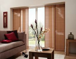 image of top window treatments sliding glass doors