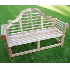 2 seater wooden garden teak bench marlboro