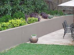 poured concrete retaining wall architectural design within cement retaining wall ideas