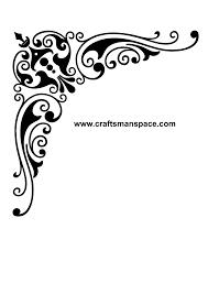 Corner Designs Vector Free Download Corner Design Ornament