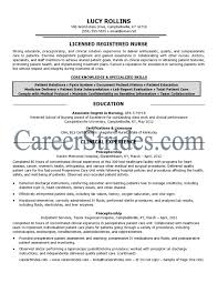 Nurse Resume Sample Free Resume Example And Writing Download
