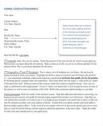 Formal Cover Letter Proper Letter Format To Government Official Fresh Formal Letter