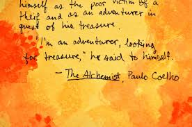 the alchemist is my favorite book credit pot why the alchemist